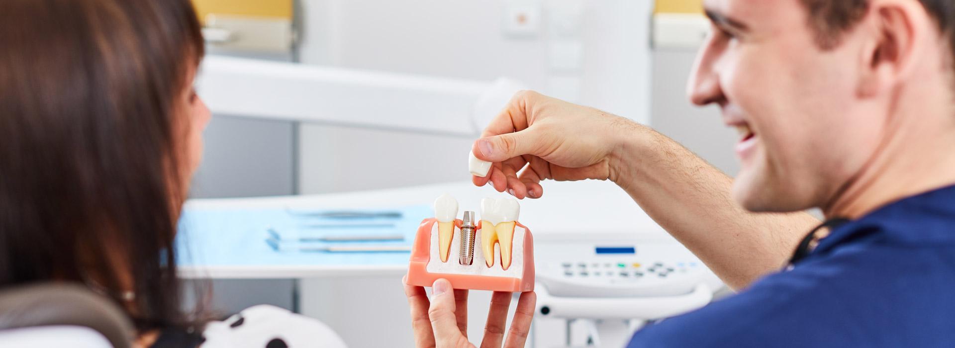 Zahnarztpraxis Dres. Braunschweiger & Gebauer - Festsitzender Zahnersatz 1