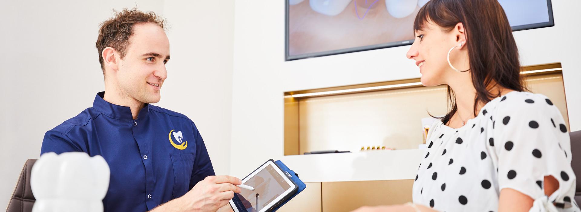 Zahnarztpraxis Dres. Braunschweiger & Gebauer - Zahnersatz auf Implantaten 1